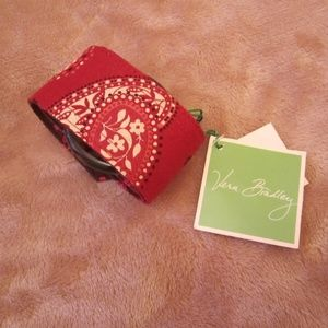 Vera Bradley Accessories~Mesa Red Fabric Belt~New